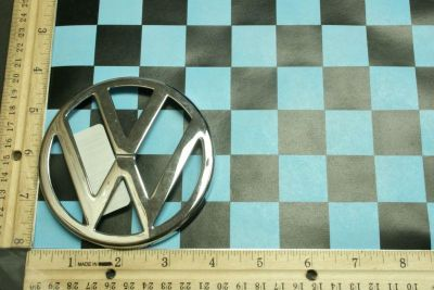 Purchase Volkswagen OEM Emblem with Prongs Item # 58074110 motorcycle in Hollywood, Florida, US, for US $11.99