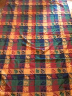 Great fall table cloth