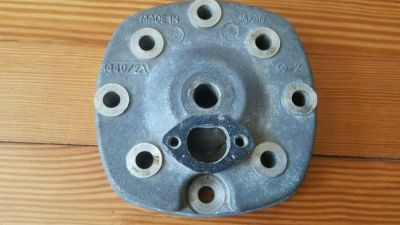 Purchase Vintage Kawasaki Invader 440 John Deere Liquifire 440 snowmobile cylinder head motorcycle in Washington, Maine, United States, for US $25.00