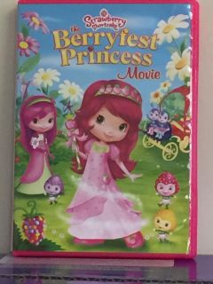 5 DVDs- Strawberry Shortcake, Sofia the First, Angelina Ballerina, Shopkins, and The Secret of the Wings