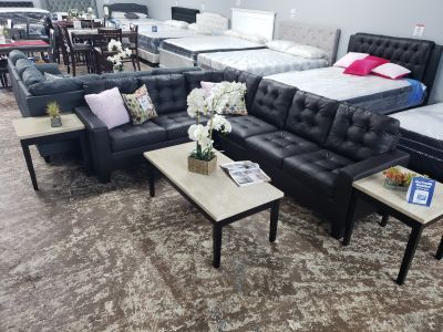 4 PC sectional sofa set
