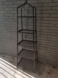 5 tier metal stand