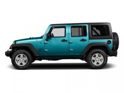 2016 Jeep Wrangler Unlimited Sport (Hydro Blue Pearlcoat)