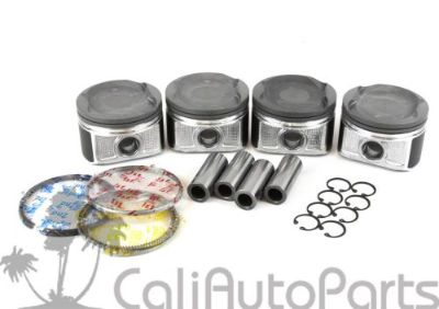 """Purchase FITS: 01-03 TOYOTA RAV4 2.0L """"1AZFE"""" PISTONS KIT WITH RINGS SET (STANDARD SIZE) motorcycle in Orange, California, United States, for US $122.50"""