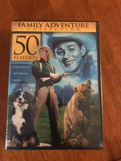 NEW! Family adventure collection 50 features - over 39 hours of entertainment