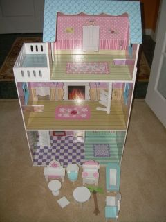 DOLL HOUSE WITH FURNITURE--STILL AVAILABLE