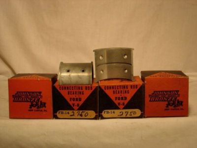 Buy ROD BEARINGS 1932-1938 85 HORSEPOWER FLAT HEAD FORD SET OF 4 FB14 2750 STD. motorcycle in Atlanta, Georgia, United States, for US $52.00
