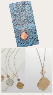 Rose gold necklace ppu