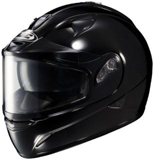 Purchase HJC IS-16 Black XL Dual Lens Snowmobile Full Snow Sled Helmet motorcycle in Ashton, Illinois, US, for US $143.24
