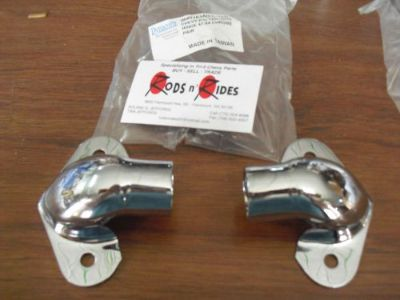 Sell 1947-1953 chevy gmc truck tailgate hinges hinge chrome motorcycle in Calhoun, Georgia, United States, for US $34.00