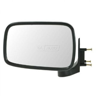 Purchase 86-93 Mazda Pickup Truck Chrome Manual Door Mirror Driver Side Left Hand LH NEW motorcycle in Gardner, Kansas, US, for US $33.90