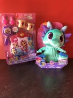 FISHER PRICE Shimmer and Shine Sparkle Pet and Purse Set
