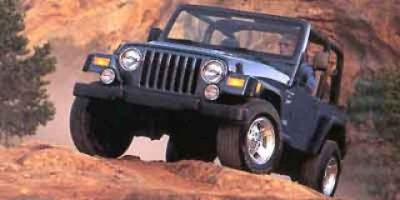2001 Jeep Wrangler Sport (Yellow)