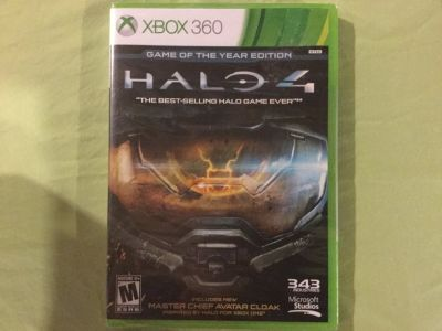 Halo 4 Xbox 360 Game of The Year Edition (BRAND NEW)