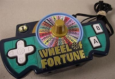 Wheel of fortune handled game