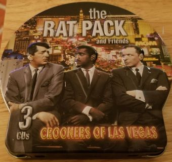 3 CD's of the Rat Pack