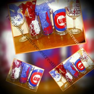 Customized beer mug or wine glass now buy one get one half off