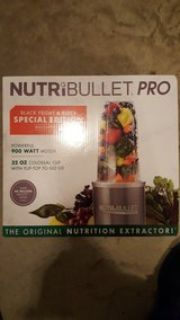 Nutribullet Pro 6 Special Edition - 6 piece set