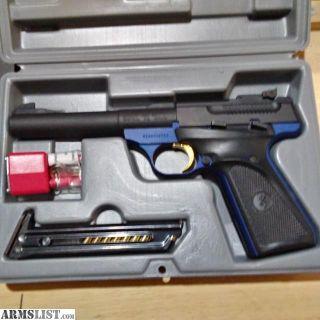 For Sale/Trade: Browning Buckmark .22 LR Camper Blue NEW