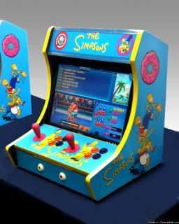 619in1 Simpsons Arcade Themed Multicade For Sale!