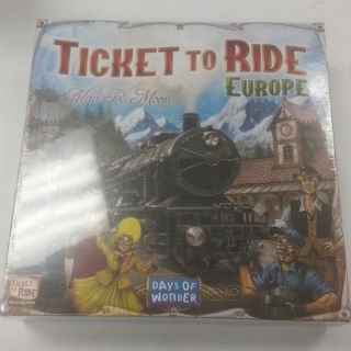 Ticket to Ride -Europe Edition Board Game