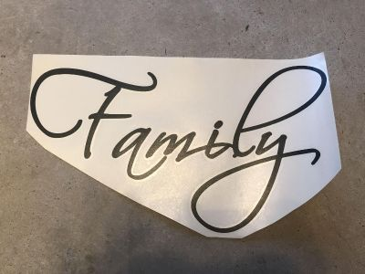 Family decal