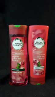 Herbal Essence Shampoo and conditioner color me happy