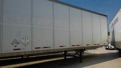Fleet of 23 Used 53ft Wabash Dry Van Semi Trailers For Sale