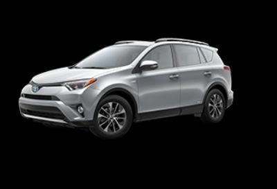 2018 Toyota RAV4 XLE Hybrid AWD-i (Silver Sky Metallic)