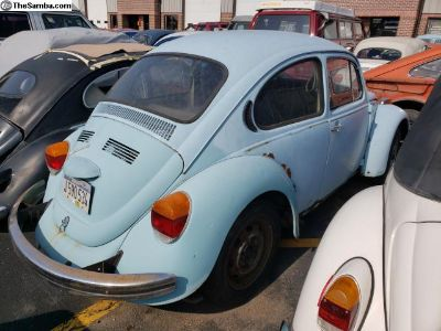 1973 Bug 43,000 orig miles needs restoration