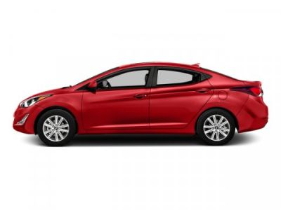 2016 Hyundai Elantra GLS (Geranium Red)
