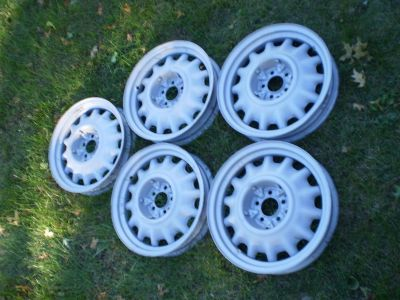 "1935 1936 Chevy Standard 17"" ARTILLERY WHEELS Original TRUCK RAT ROD GM 5 LUG"