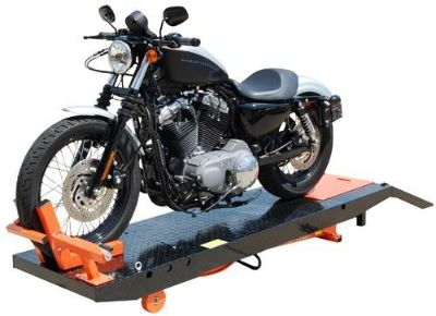 Purchase Titan 1000D Motorcycle Lift 1,000 lb air powered with Vise motorcycle in Greenwood, Indiana, US, for US $749.00