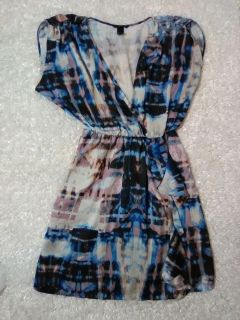 H&M Abstract Dress Size 12
