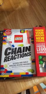 Lego Chain Reactions OPENED but all components. Like new