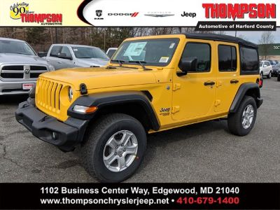 2019 Jeep Wrangler Unlimited Sport S (Hellayella Clearcoat)