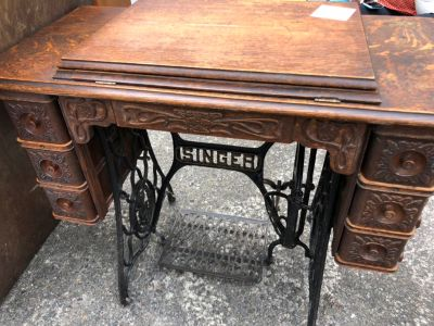 Singer sewing table (no machine) -
