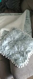 Blanket with pillow sham