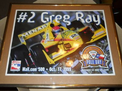 Greg Ray Hand Signed Poster from Chionsip Weekend
