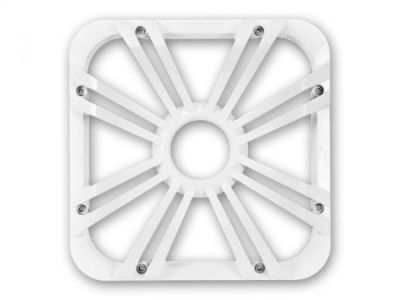 """Purchase Kicker 11L710GLW 10"""" Square Solo-Baric L7 Subwoofer White Grill W/ Accent Leds motorcycle in Nixa, Missouri, United States, for US $59.95"""