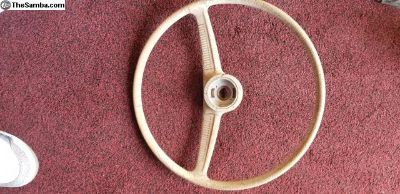 Oval to 1958 steering wheel core