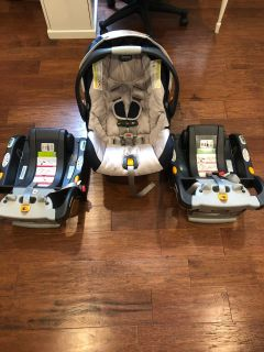 Chicco Keyfit 30 infant car seat & bases