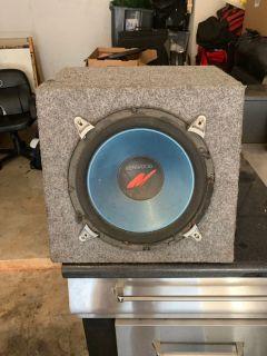Ken wood 12 speaker