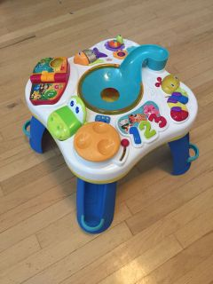 Toddler activity table $8