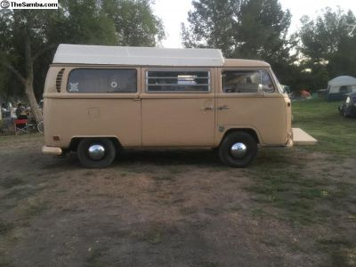 Running & Driving 1970 westfalia poptop camper