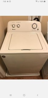 Amana washer and gas dryer. Cross posted. Price is for both.
