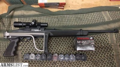 For Sale: Ruger 10/22 with Extras