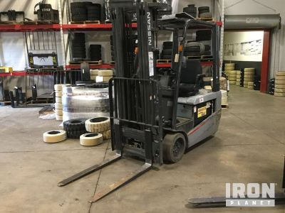 2012 Nissan TX40 Electric Forklift
