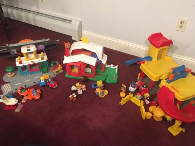 Fisher Price Little People Vintage Lights and Sounds Sets