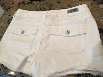 Justice jean shorts, size 16R
